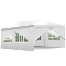 10ft x 20ft Heavy Duty Party Wedding Canopy Tent Gazebo White