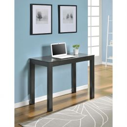 Sofa Table Laptop Desk Console Table in Espresso Wood Finish