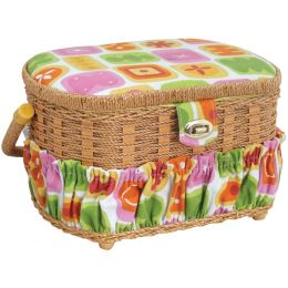 Lil Sew & Sew Sewing Basket With 41-piece Sewing Kit